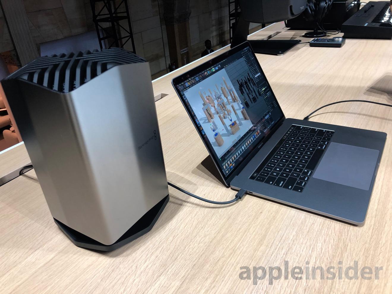2018 MacBook Air eGPU