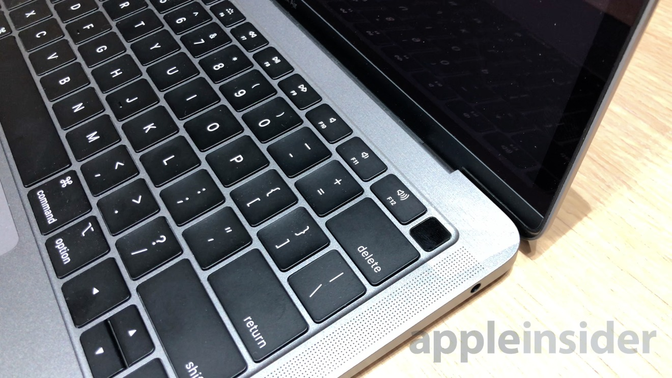 2018 MacBook Air with Touch ID