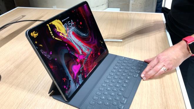 2018 iPad Pro with new Smart Keyboard Folio