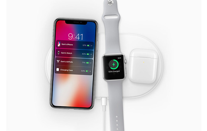 Using Apple's AirPower to charge iPhone, Apple Watch and AirPods