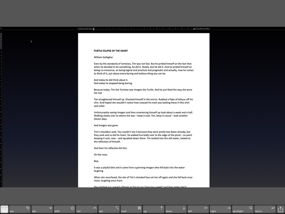 Microsoft Word 2019's Focus Mode