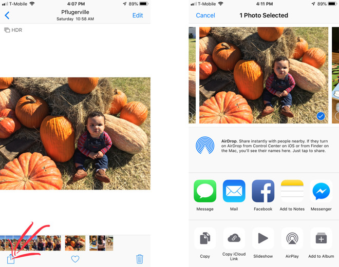 How to share iCloud Photo Library photos with anyone, and
