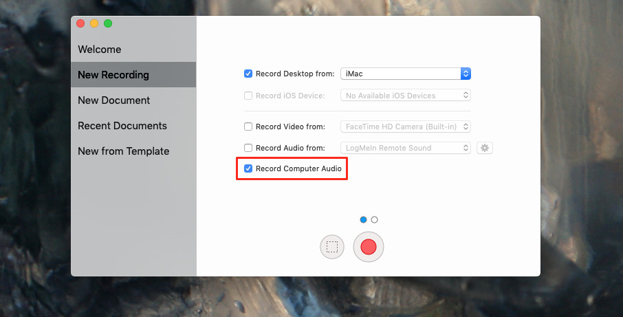 Screenflow includes the ability to record your Mac's audio