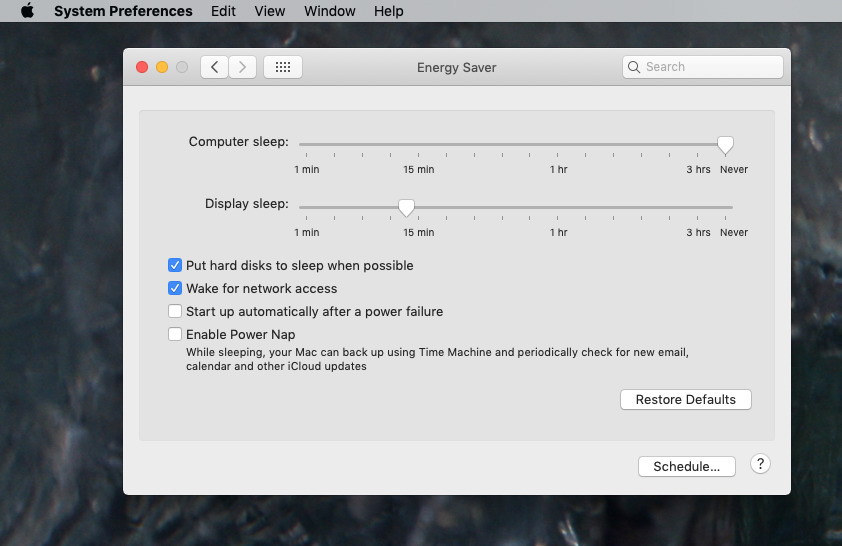 Remember to adjust your Display Sleep option or your Mac will go blank before the screensaver can start