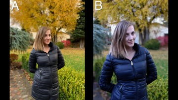 Blind comparison of photography on the iPhone XR versus