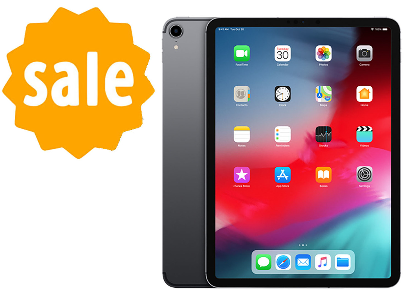 Apple 11 inch iPad Pro with sale graphic