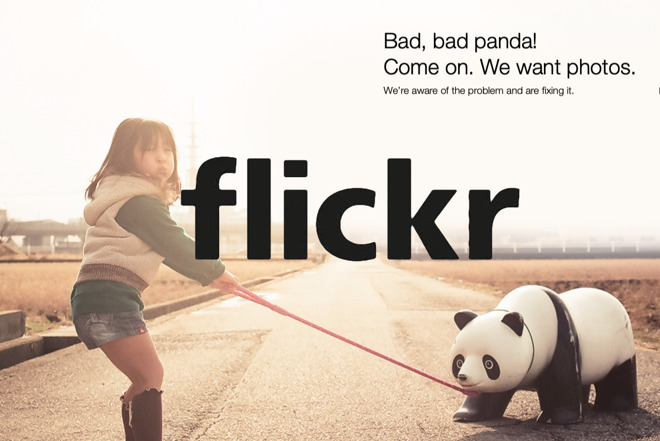 Detail from a Flickr error page