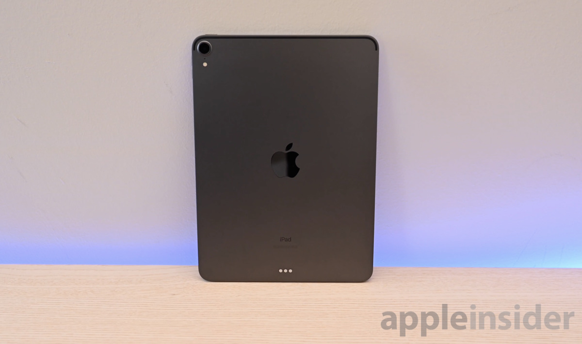 2018 iPad Pro Space Gray back