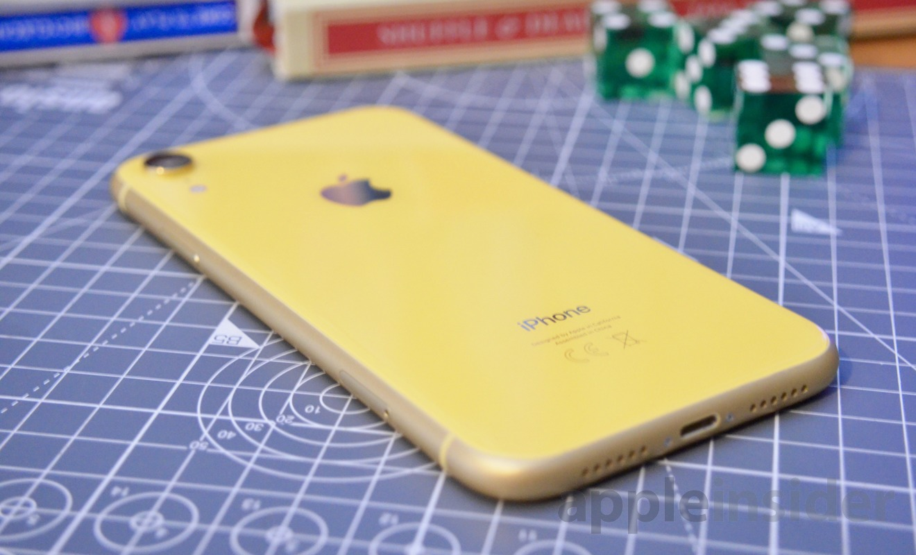 The colors of the iPhone XR are quite striking