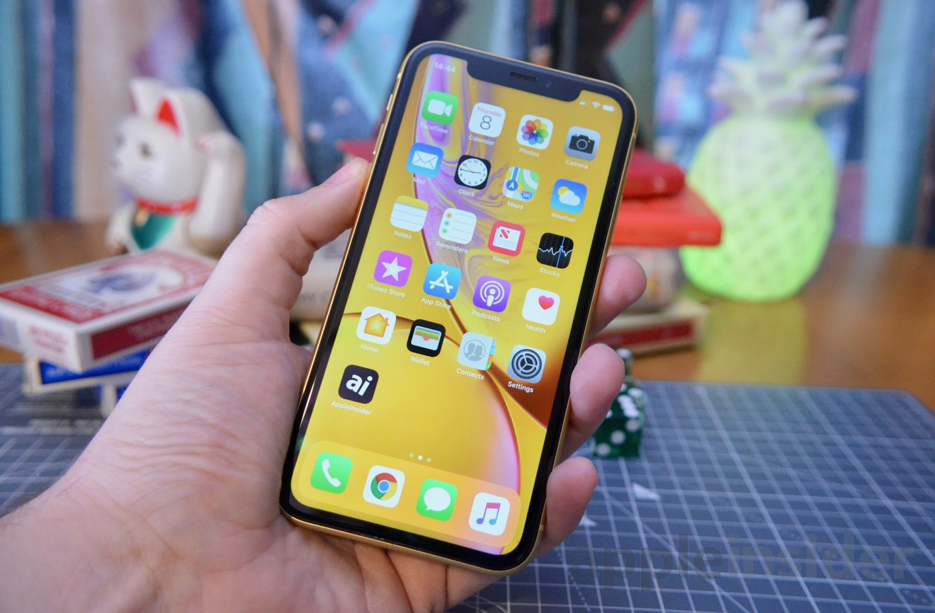 Not as big as the iPhone XS Max, bigger than the iPhone XS