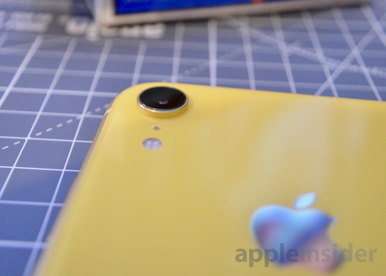 The iPhone XR's single rear camera