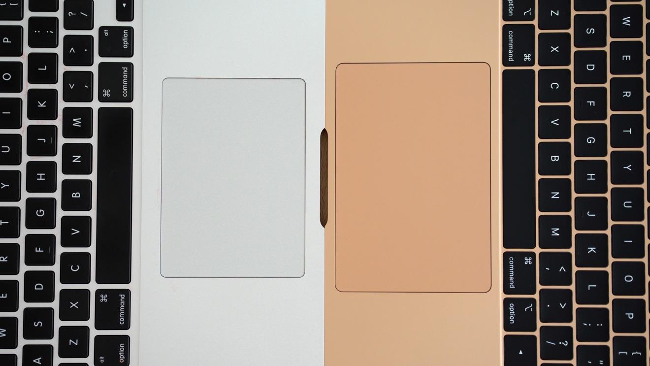 2017 MacBook Air vs 2018 MacBook Air Trackpad size