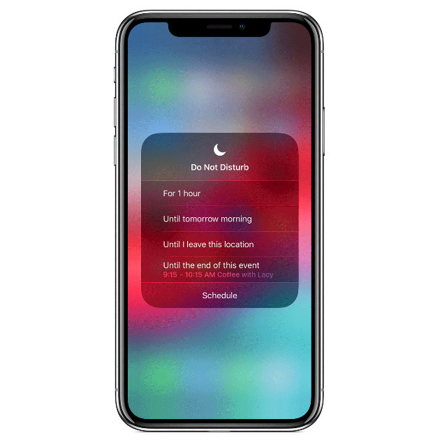 appleinsider.com - How to temporarily enable Do Not Disturb in iOS 12