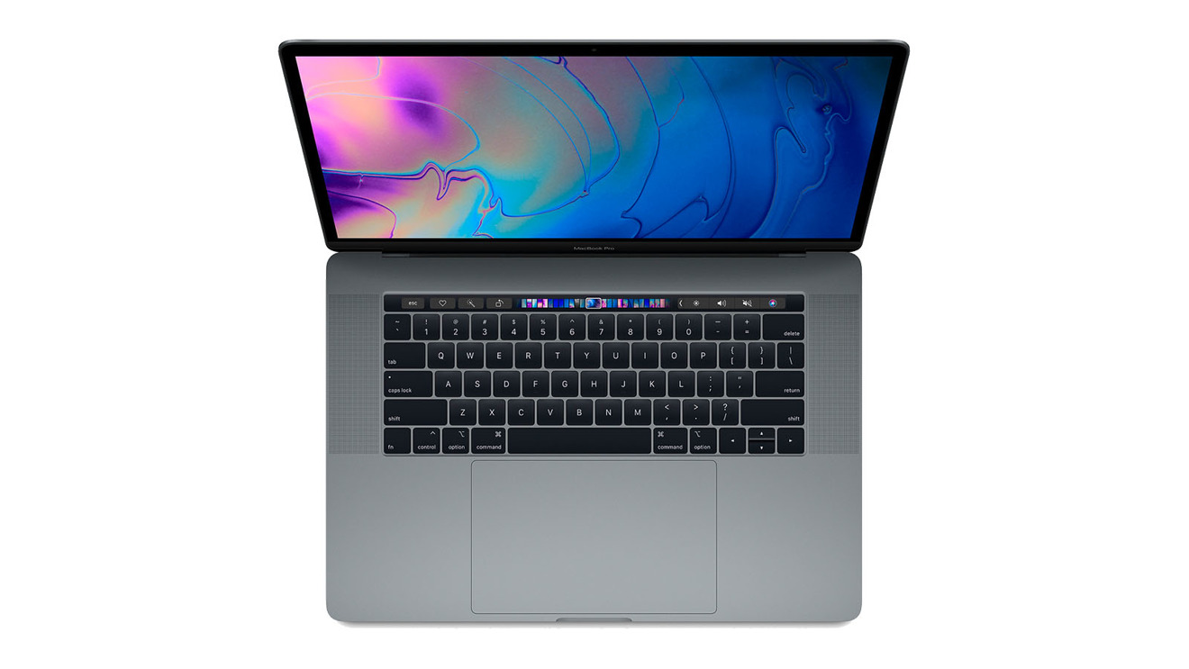 Apple 2018 15 in MacBook Pro in Space Grey