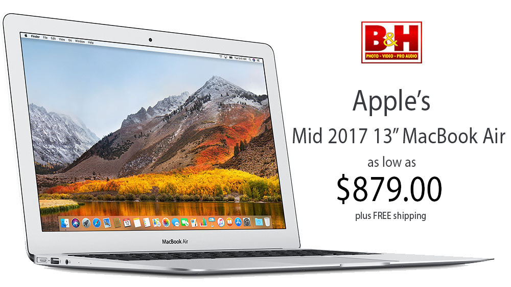 Apple 2017 MacBook Air sale