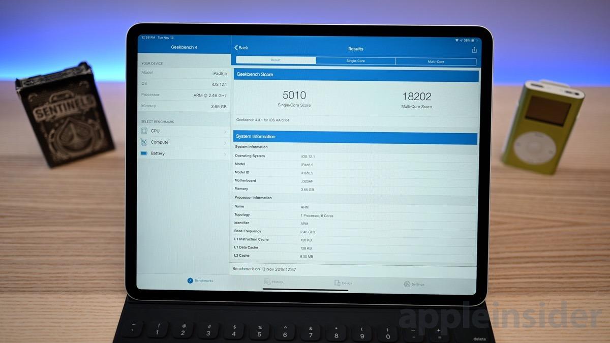 2018 12.9-inch iPad Pro benchmarks