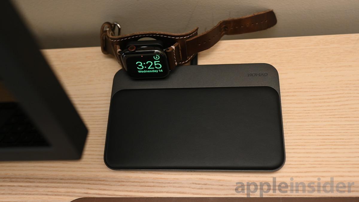 Nomad Base Station + Apple Watch