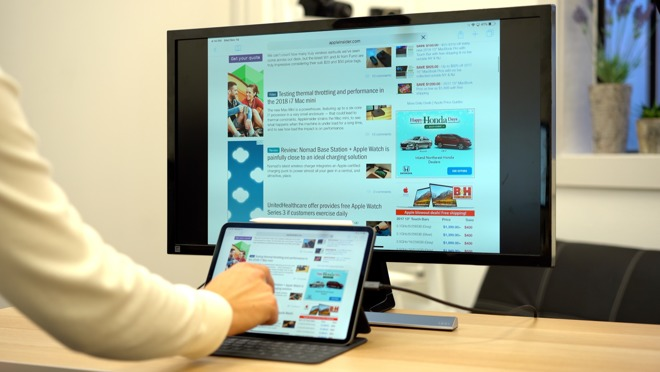 11-inch iPad Pro display mirroring