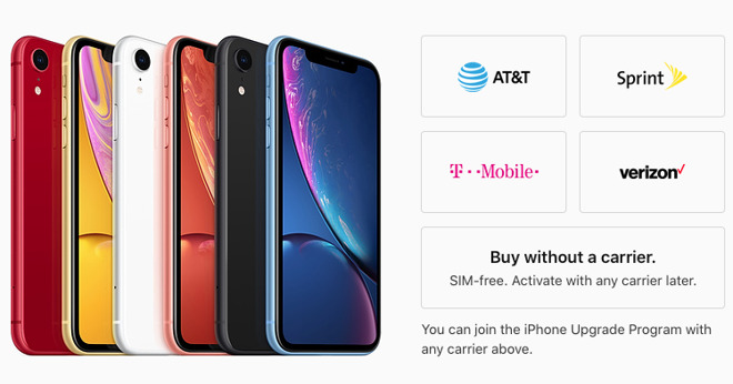 Apple makes SIM-free version of iPhone XR available in the