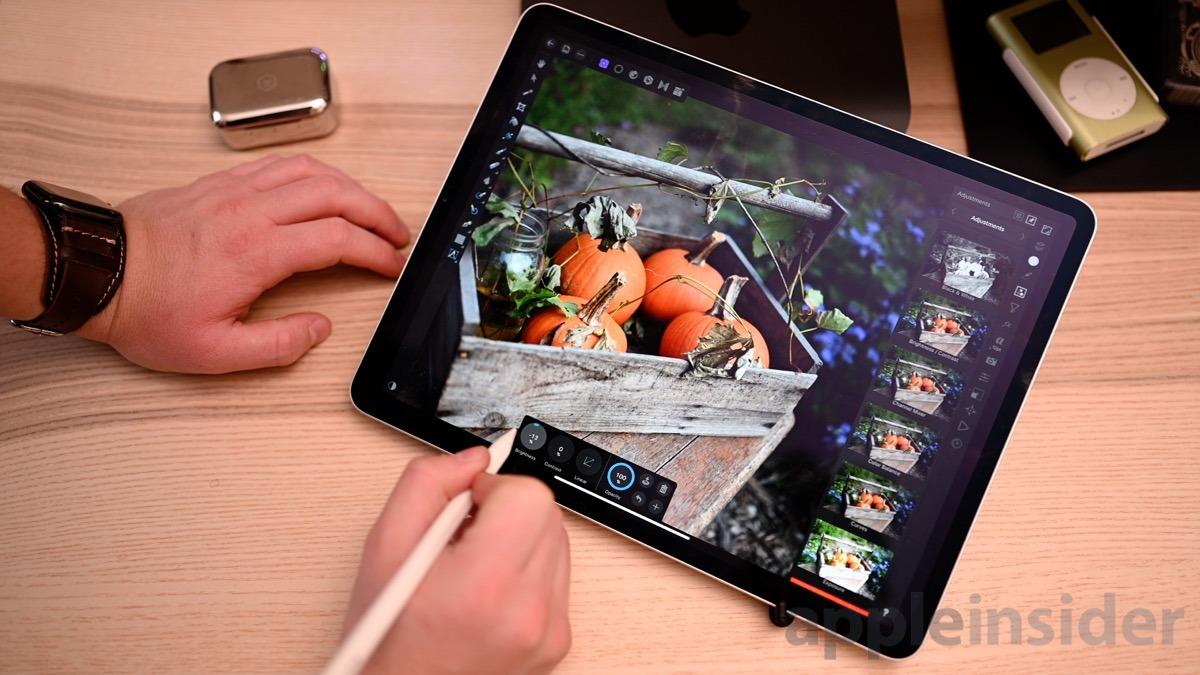 2018 12.9-inch iPad Pro using Affinity Photo