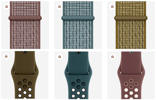 Three new Apple Watch Sport Loop and Sport Band color