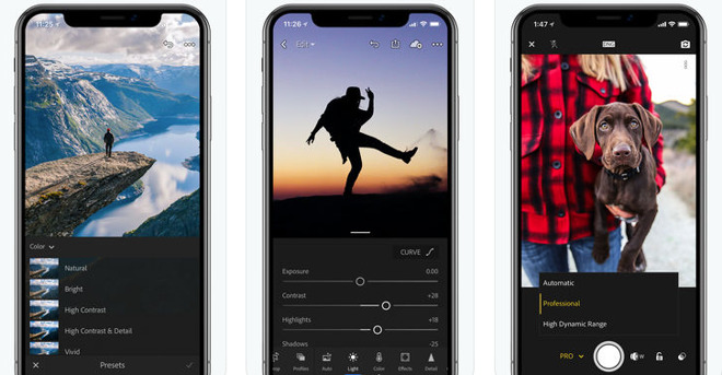 Adobe Lightroom CC adds support for 2018 iPads and iPhones, new