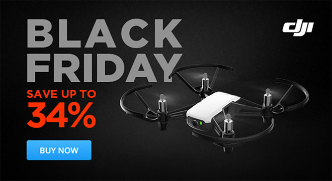DJI Black Friday 2018 drone sale