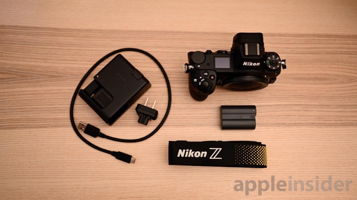 Nikon Z6 in the box