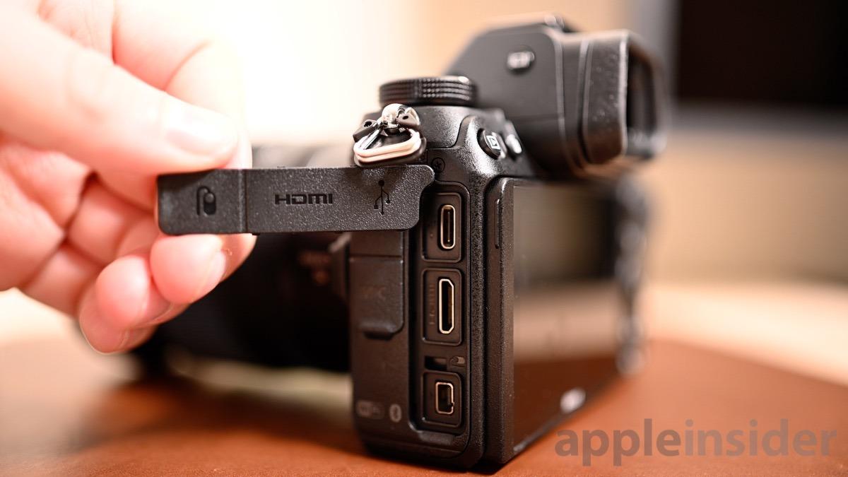 Nikon Z6 ports