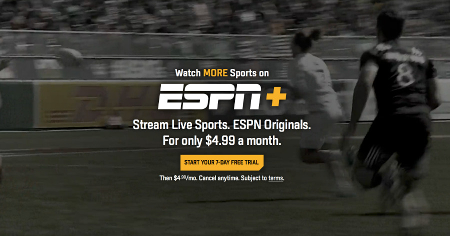 Sport on ESPN+