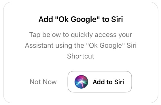 You can now awkwardly summon Google Assistant on your iPhone with
