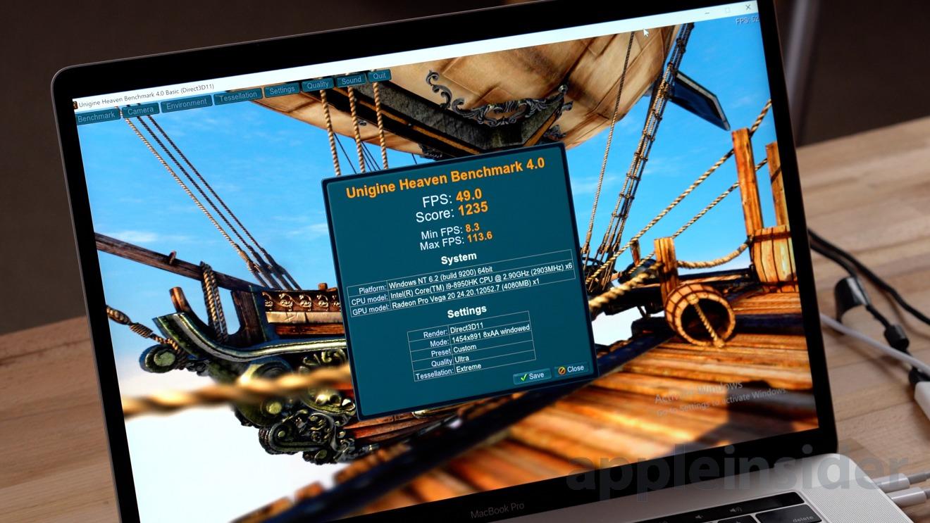 Benchmarked Amd S Radeon Vega 20 Gives Macbook Pro Big Graphics Boost Appleinsider