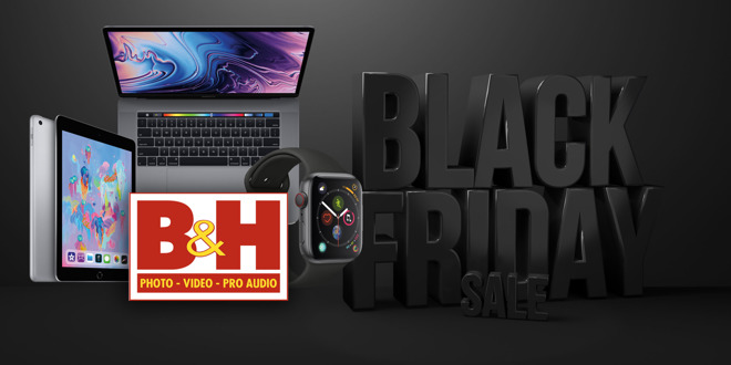 Black Friday weekend deals are live at B&H, grab the lowest prices