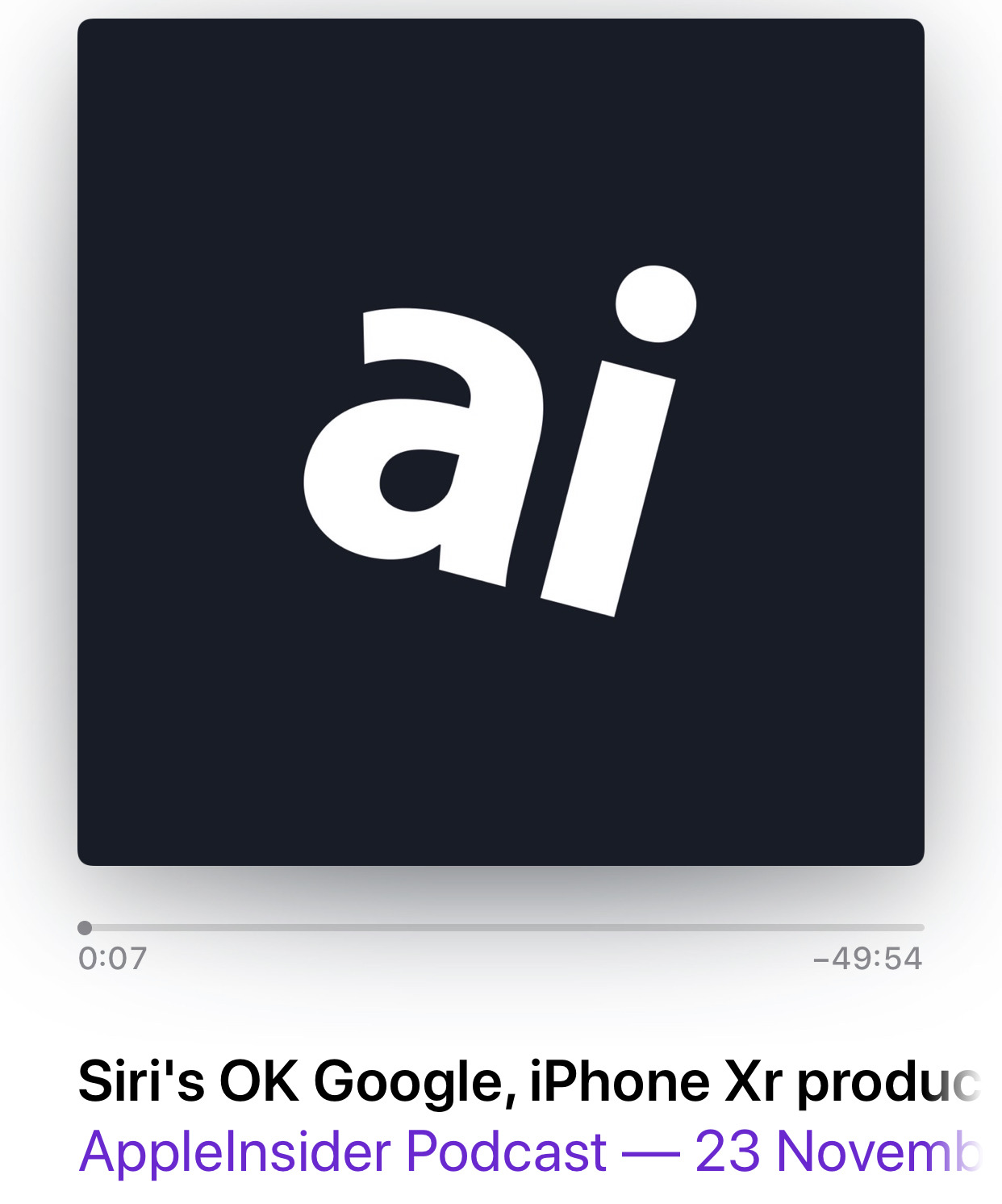Detail from the AppleInsider Podcast