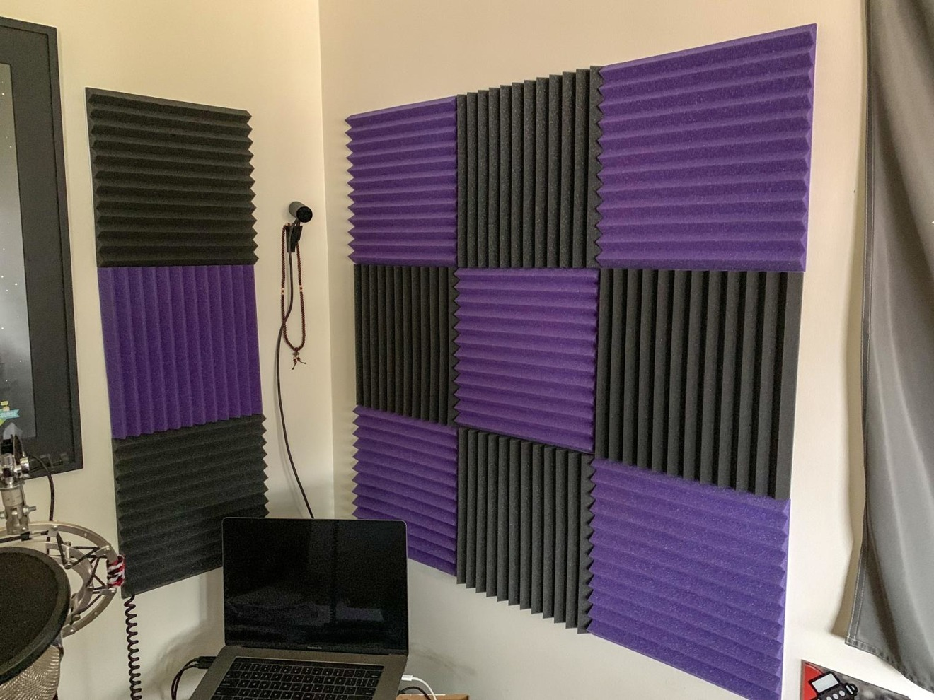 A DIY podcast studio