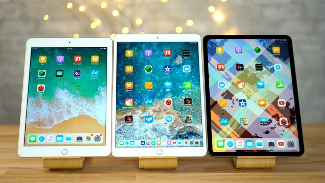 The iPad, 10.5-inch iPad Pro, and 11-inch iPad Pro