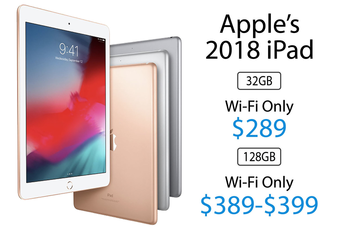 Amazon has 2018 iPads on sale for $289, plus $659 iPhone X devices at Woot