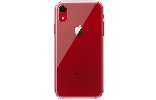clear apple iphone xr case silicone