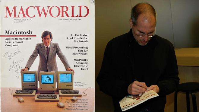 Рідкісний випуск Macworld з автографом Джобса коштує більше $10 000