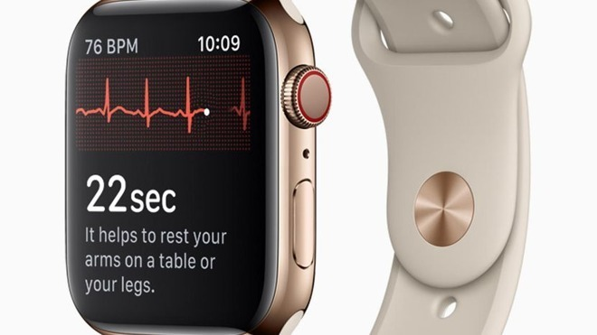 Apple rolls out watchOS 5.1.2 update, complete with ECG function