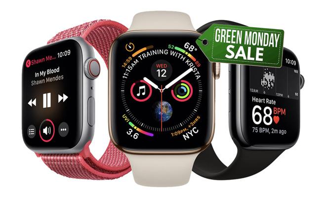 Apple Watch Green Monday deals
