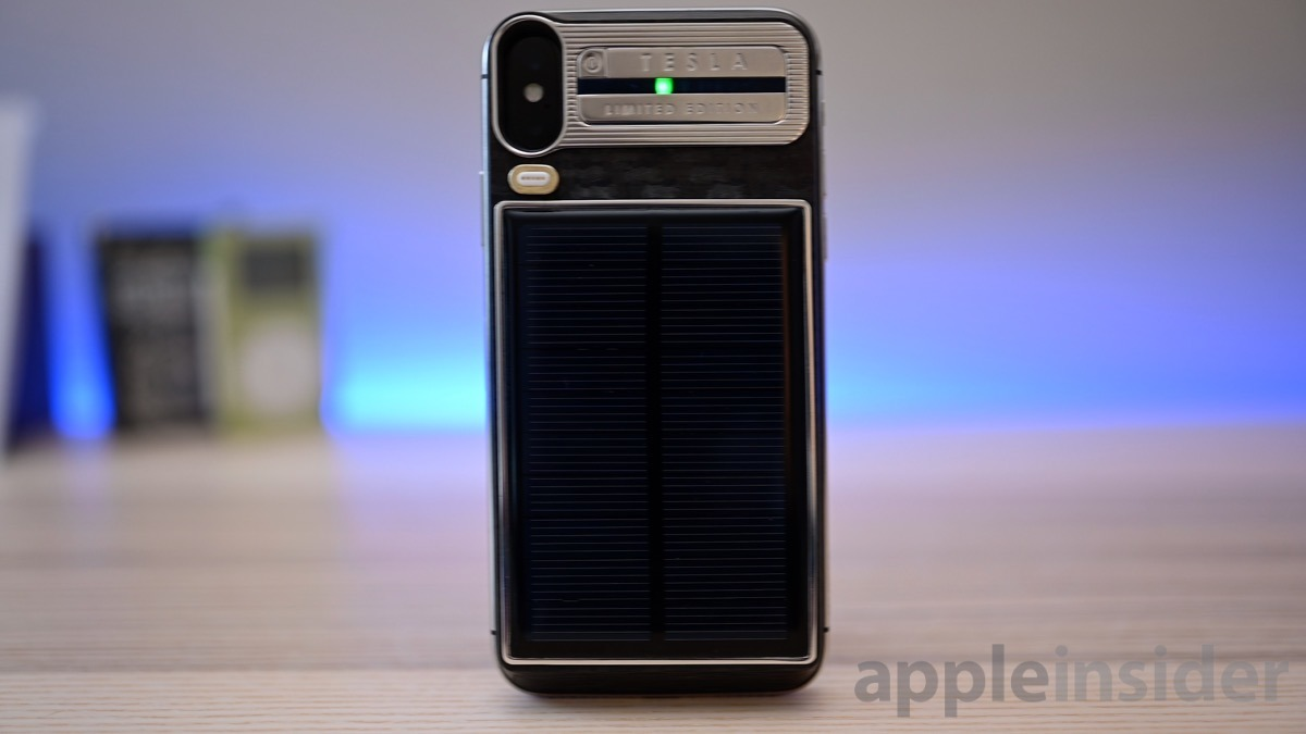 Caviar Tesla iPhone X