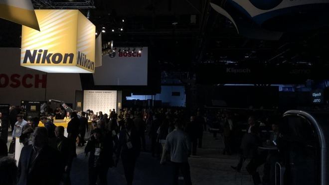 Blackout at Consumer Electronics Show 2018