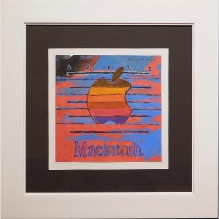 Andy Warhol's Apple logo goes on sale