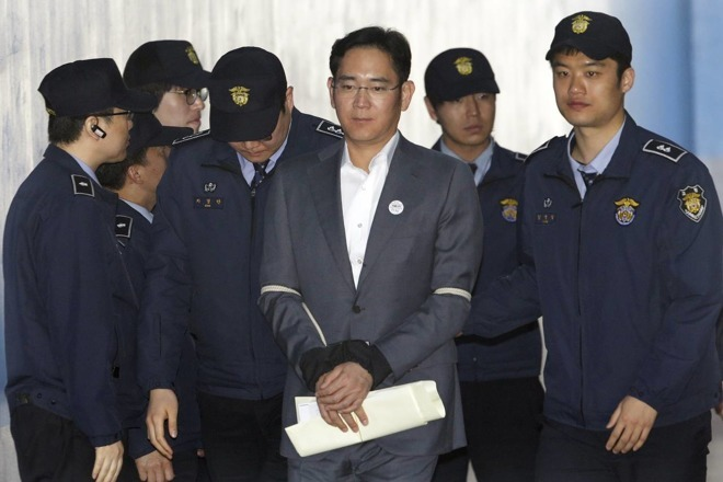 Samsung chair Lee Jae-yong