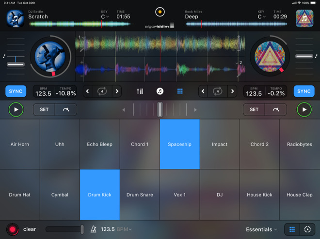Algoriddim's new unified djay for iOS goes free with