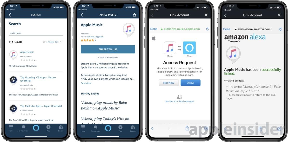 Adding Apple Music to Amazon Alexa