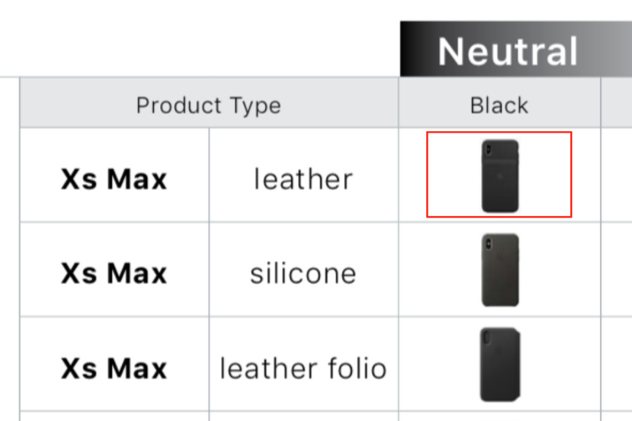 iPhone XS & iPhone XS Smart Battery case leaks out in Apple marketing document