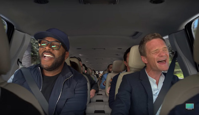 Carpool Karaoke is an early and hopefully not typical example of Apple's plans for programming