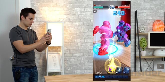AR Robot, iOS